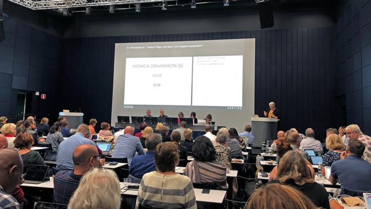 Regionfullmäktige i Sörmland september 2019